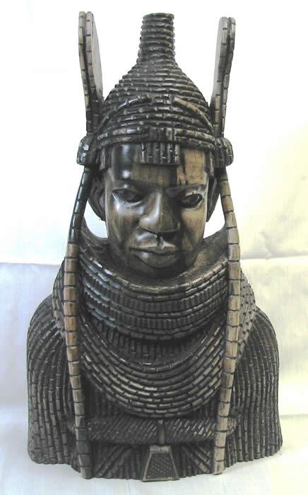 Owie Bova Of Benin Mask New